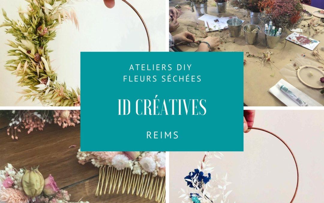 Atelier DIY Reims Fleurs séchées