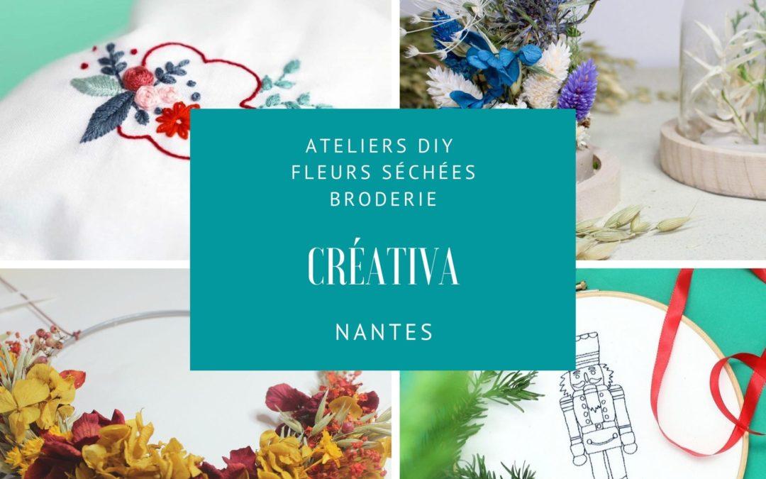 Ateliers créatifs Nantes
