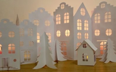 Tutoriel Village de Noël DIY