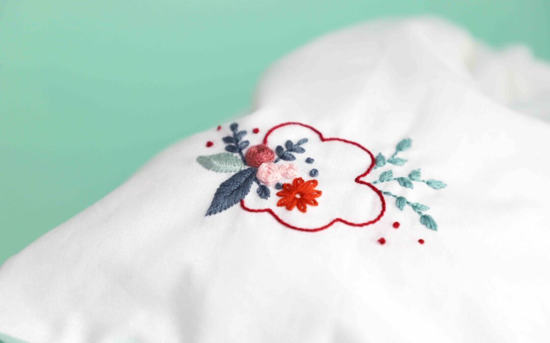 atelier DIY Broderie texte floral