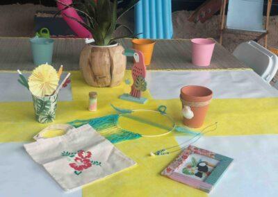 ateliers créatifs enfants centre commercial